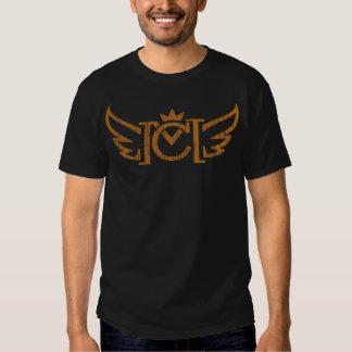 Velha escola do CM (ouro do vintage) T-shirts