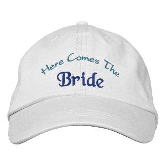 Vem aqui a noiva boné bordado