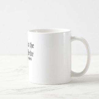 vem o lado escuro caneca de café