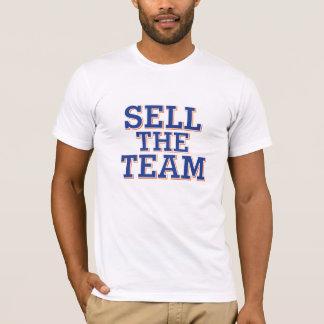 Venda o t-shirt da equipe