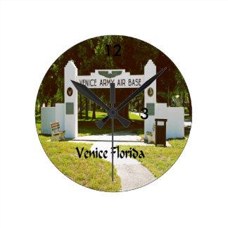 Veneza Florida Relógio Para Parede