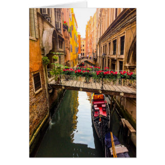 Veneza Italia Cartão Comemorativo