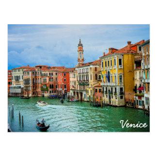 Veneza, Italia Cartão Postal