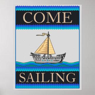 Venha navegando a decoração do escritório Home/ Poster