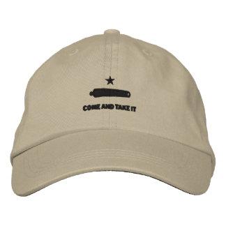Venha tomá-lo bordou o chapéu boné bordado