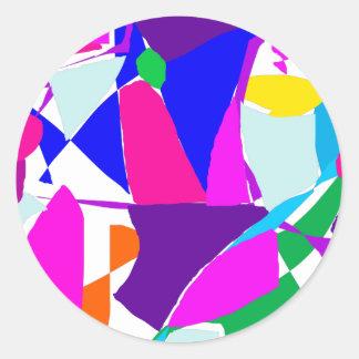 Vento oriental do vitral pernicioso do azulejo adesivo