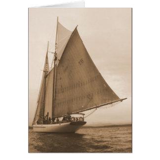 Ventos justos cartão
