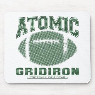 Verde atômico da grelha mousepad