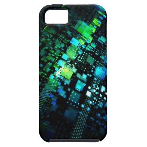 Verde azul capas de iPhone 5 Case-Mate