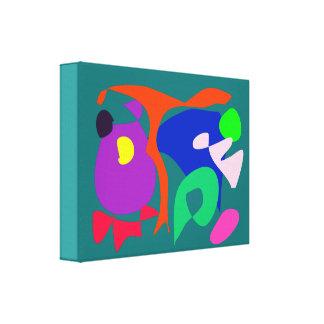 Verde da natureza impressão de canvas envolvidas