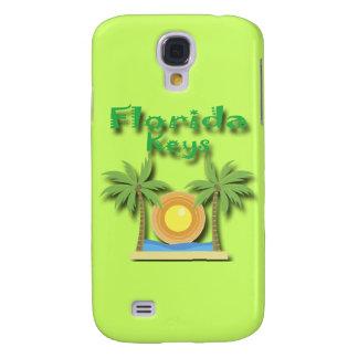 Verde das palmas de chaves de Florida Galaxy S4 Cover