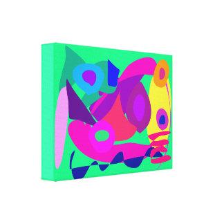 Verde de trabalho do primavera impressão em tela canvas