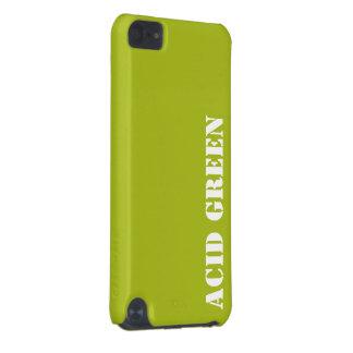Verde do ácido capa para iPod touch 5G