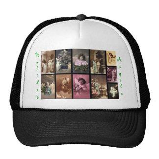 Verde do chapéu dos anjos do feriado mim - customi boné
