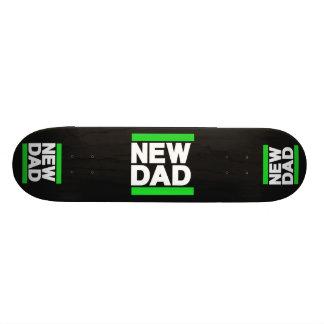 Verde do novo papai skate