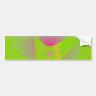 Verde do trevo de quatro folhas adesivo