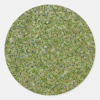 verde dos azulejos adesivo