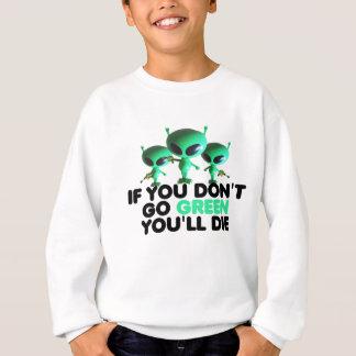 Verde engraçado tshirt