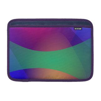 Verde roxo azul bolsas de MacBook air