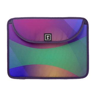 Verde roxo azul bolsas para MacBook pro