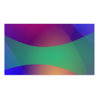 Verde roxo azul cartão de visita