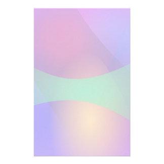 Verde roxo azul papelaria