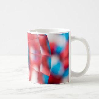 Vermelho, branco, e azul! caneca de café