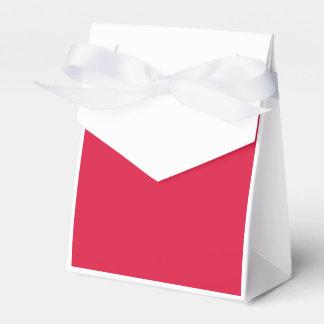 Vermelho carmesim caixinha de lembrancinhas