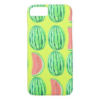 vermelho da melancia - delicioso capa iPhone 7