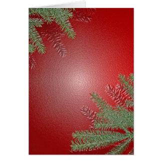Vermelho da poinsétia do Natal Cartões