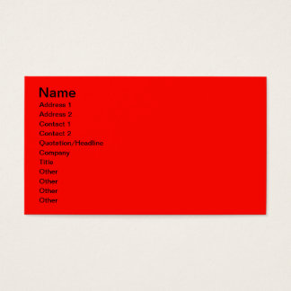 Vermelho de Apple de doces Cartão De Visitas