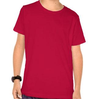 Vermelho & design do jérsei dos esportes dos tshirt