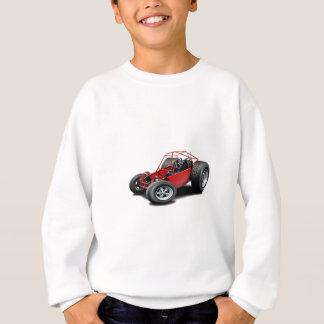 Vermelho do carrinho de duna camiseta
