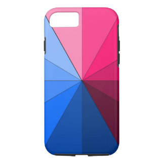 vermelho e azul capa iPhone 8/7