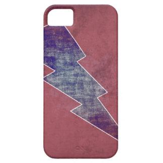 Vermelho e azul capa para iPhone 5
