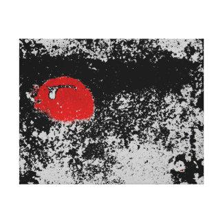 vermelho e preto