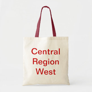 Vermelho e saco ocidental da região central do Whi Bolsa De Lona
