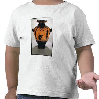 Vermelho-figura stamnos do sótão que descrevem o camiseta