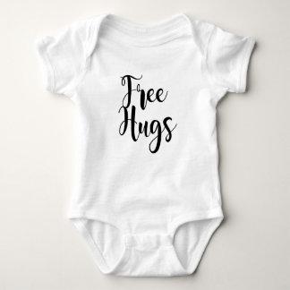 Veste livre do bebê dos abraços body para bebê