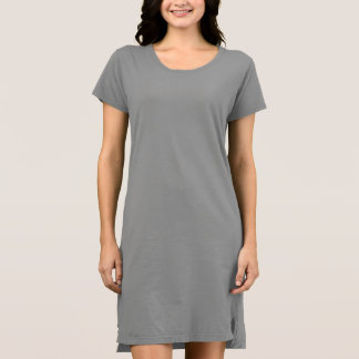 Vestido alternativo do t-shirt do roupa das