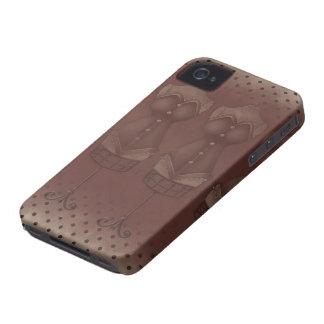 Vestido Blackberry 9700/9780 corajoso de /Vintage Capa De iPhone 4 Case-Mate