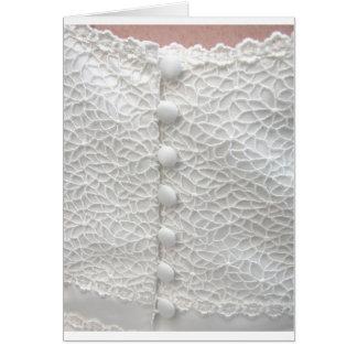 Vestido de casamento branco - customizável cartao