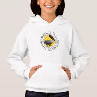 Vestido do Hoodie do pelicano das Ilhas Galápagos