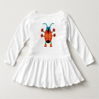 Vestido do inseto do abraço