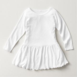 Vestido do plissado da criança camisetas