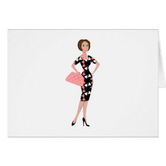 Vestido Dressy Cartão Comemorativo