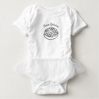 Vestido futuro do bebê do Waffle de Galentine