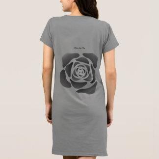 Vestido Rosa do preto do rosa de Kelly Jean no jérsei