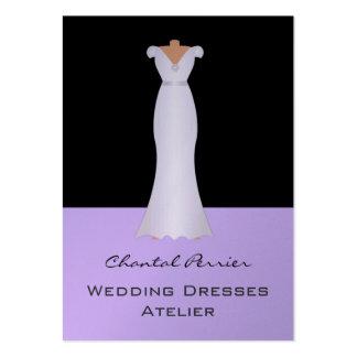 Vestidos de casamento cartoes de visita