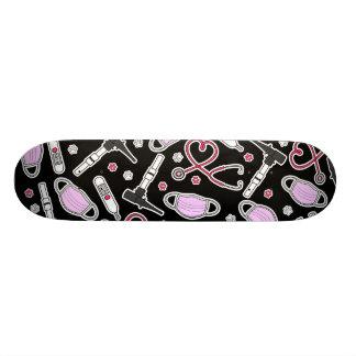 Veterinário bonito/amor veterinário do técnico shape de skate 20,6cm
